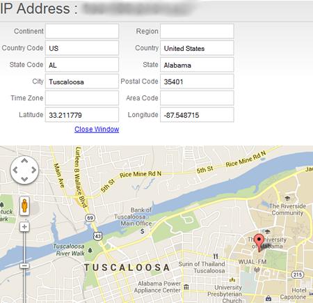 QR Code Scan Map